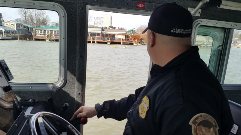 Rochester Marine Unit Assists Local Law Enforcement
