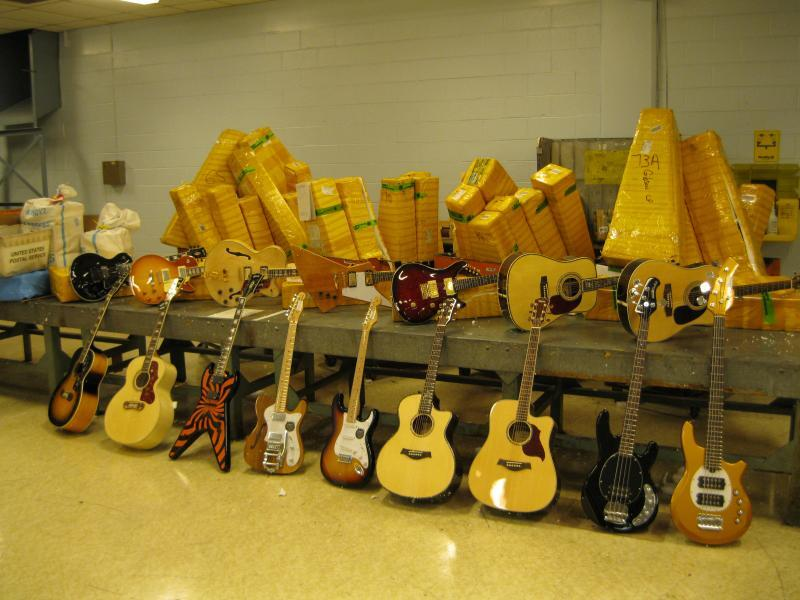 Counterfeit guitars seized in Jersey City