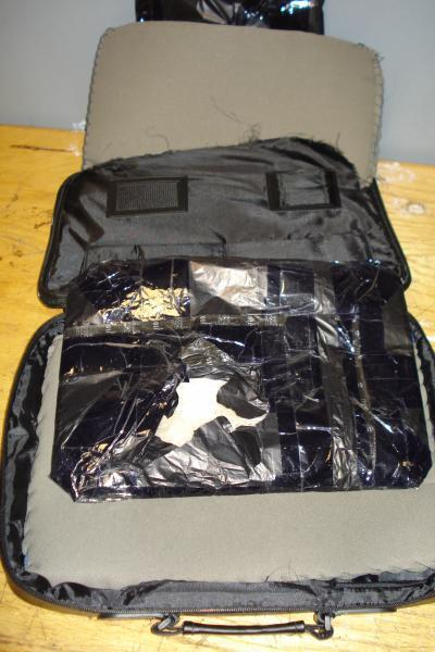 CBP at JFK catches Cocaine inside Computer Bag