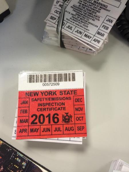 CBP at JFK Seizes Counterfeit Inspection Stickers