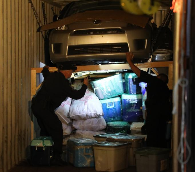 Port New York Newark Stolen Vehicles