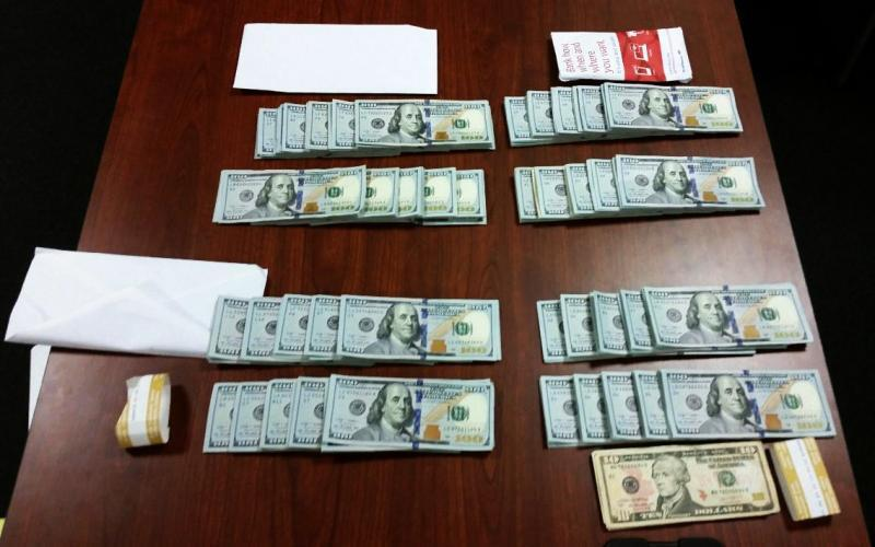 CBP officers seized $40,019 from a Ghanaian man for violating federal currency reporting laws at Washington Dulles International Airport on December 5, 2015.