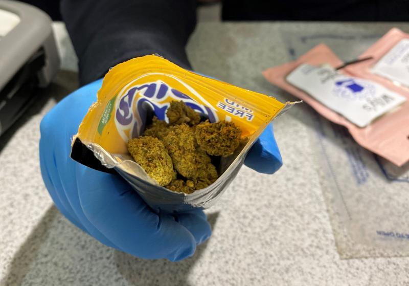U.S. Customs and Border Protection officers at BWI Airport continue to see travelers in possession of marijuana and marijuana-based products, which remain illegal under federal narcotics laws.