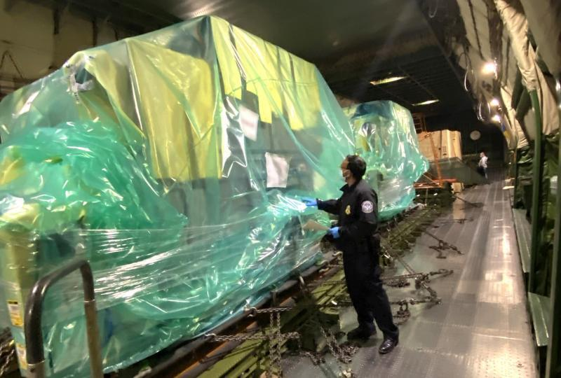 Customs and Border Protection's Area Port of Baltimore expedited the import clearances on Sunday at BWI Airport of West Pharmaceuticals Services rubber stopper presses used in the containment of injectable medications.