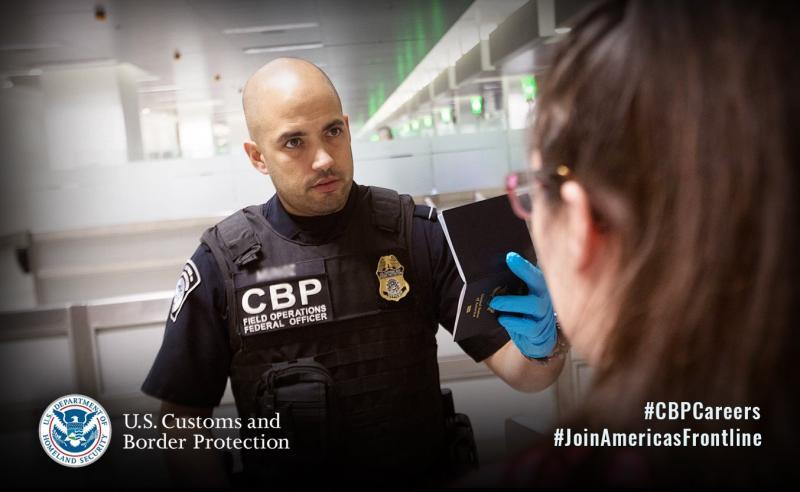 CBP hiring officers and agents
