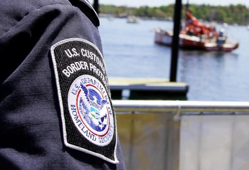 CBP officer and pleasure boat