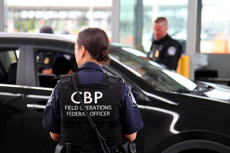 CBP Office of Field Operations officers at the Champlain, N.Y. port of entry. (File photo)