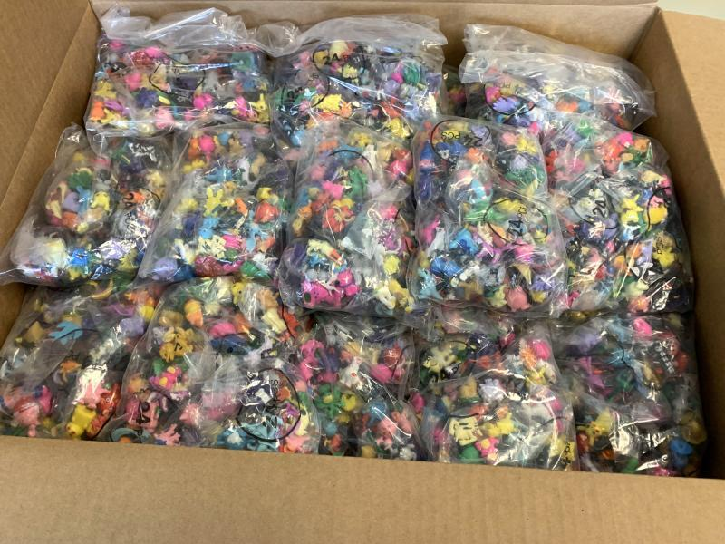 For the second time in one month, U.S. Customs and Border Protection officers in Harrisburg, Pa., seized a large shipment of counterfeit Pokemon action figures June 10, 2020.
