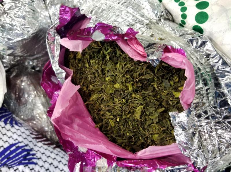 Customs and Border Protection officers seized 678 pounds of khat at Washington Dulles International Airport on November 9, 2020.