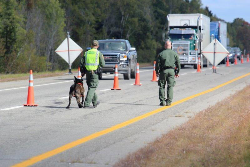 Houlton Border Patrol Sector checkpoint in Maine. (file photo)