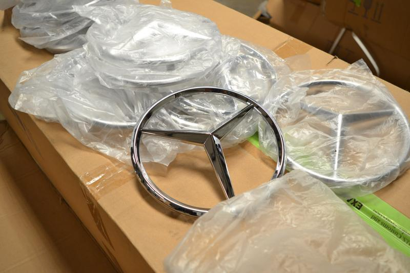 counterfeit Mercedes Benz parts