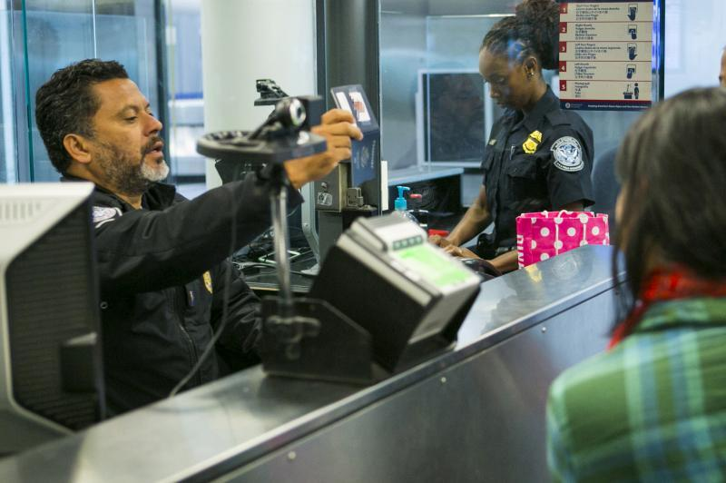 Philadelphia CBP officer (file photo)