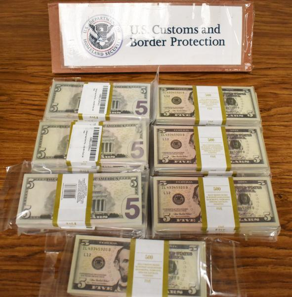 U.S. Customs and Border Protection officers in Philadelphia seized nearly $100,000 in counterfeit dollars and euros on September 7 that shipped from Russia and were destined to an address near Chicago.