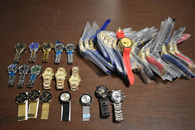 Philadelphia CBP officers seized 38 counterfeit luxury brand watches October 8, 2019.