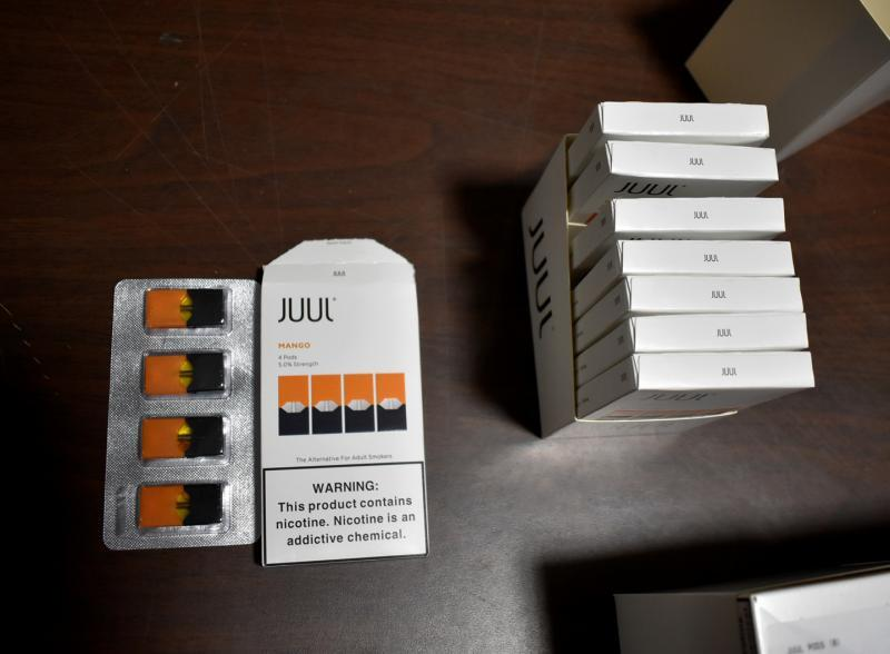 Counterfeit Juul products could pose a health and safety threat to consumers.