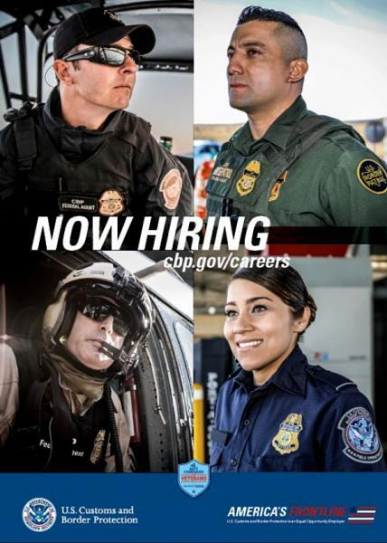 CBP Recruiting poster