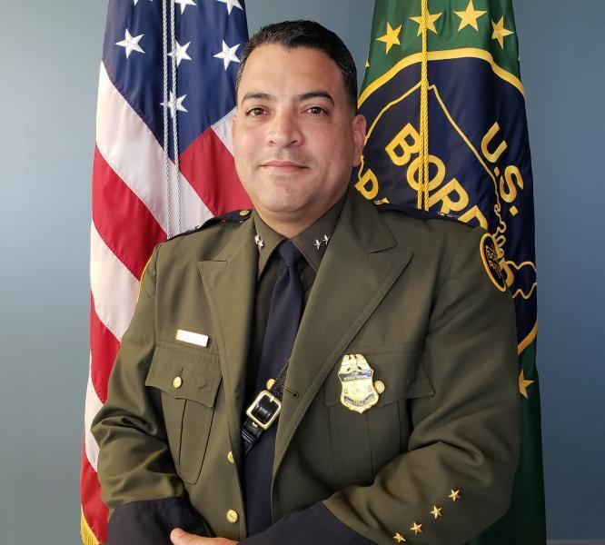 Chief Xavier Morales is the first native of Puerto Rico to lead the Ramey Sector.