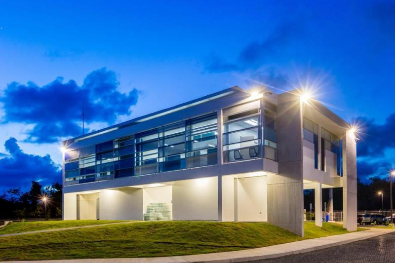 Completed at just under $4.7 million, the facility is located at the former Naval Facility Roosevelt Roads in Ceiba, Puerto Rico