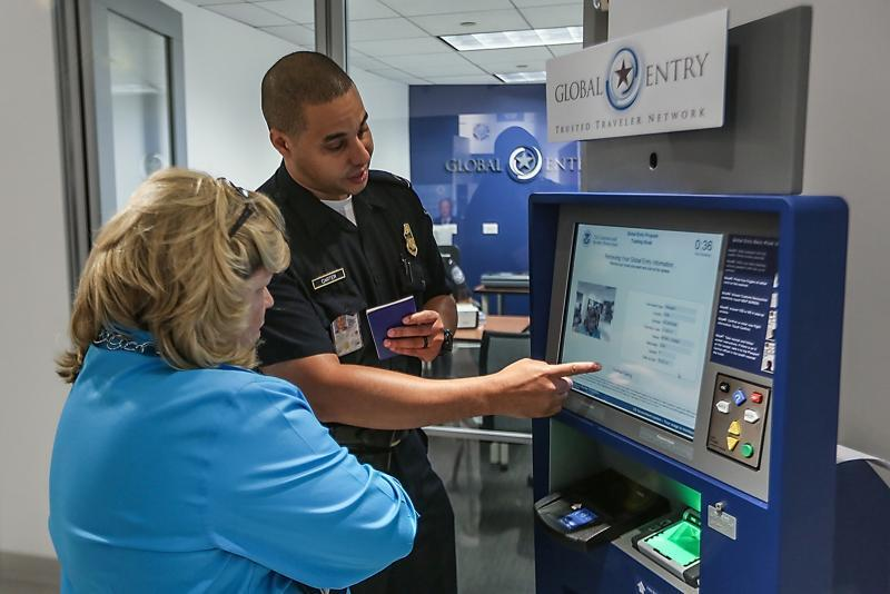 Global Entry facilitates entry into the US for trusted travelers