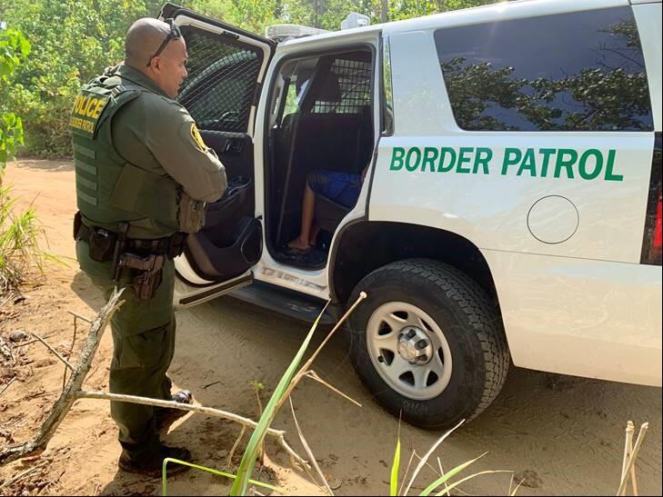 Border Patrol agents work with Operation Stonegarden partners to deal with illegal entries into Puerto Rico
