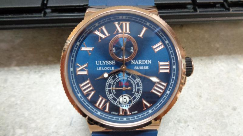 A fraudulent version of a Patek Philippe watch.