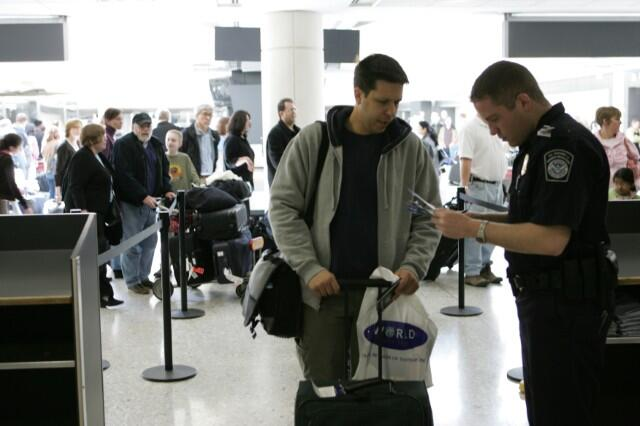 CBP officers work with TSA to detect fraudulent documents