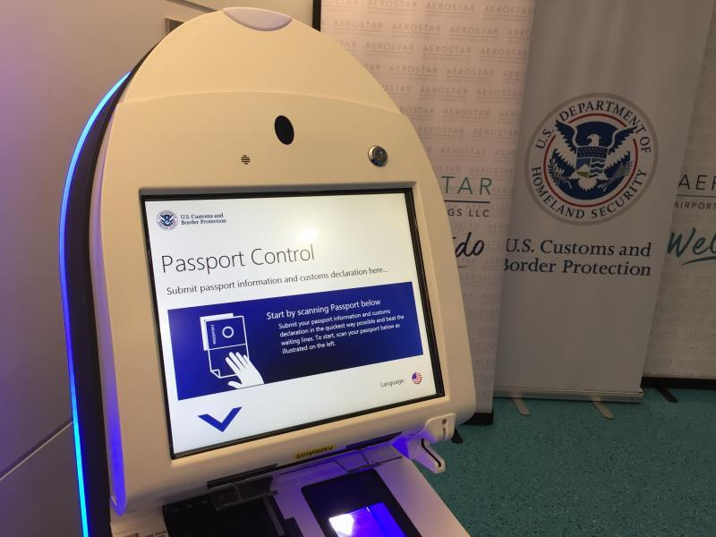 The new FIS has 14 APC and 2 Global Entry kiosks