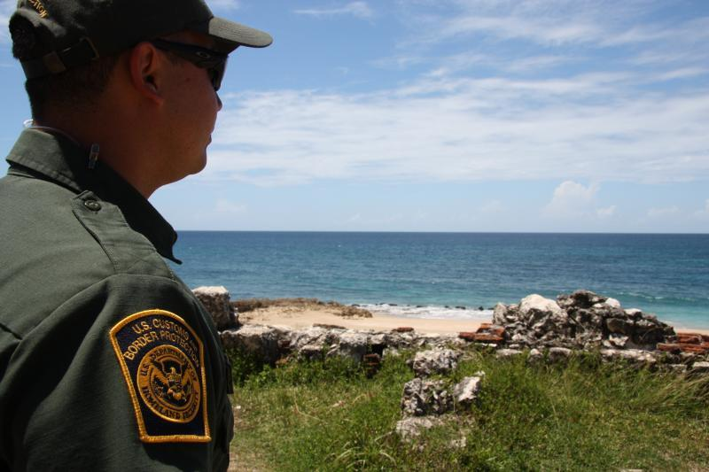 Border Patrol Agents work with other law enforcement partners to deter smuggling attempts in Puerto Rico's coast.
