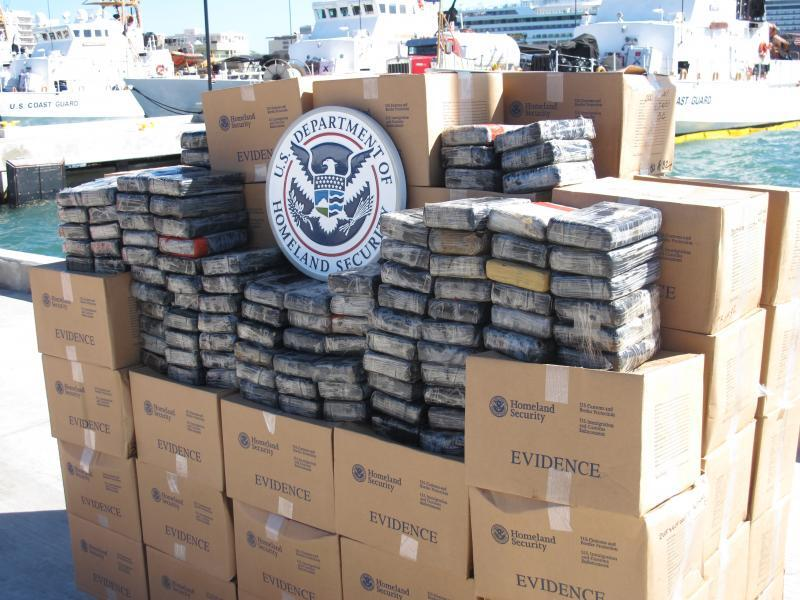 2,180 pounds of cocaine seized