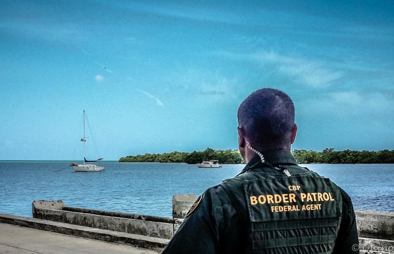 Border Patrol Agents in Puerto Rico routinely work with local partners to protect the Nation. Photo: BPA J. Quinones