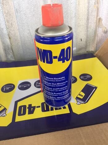 WD-40 is a very popular lubricant in Puerto Rico.