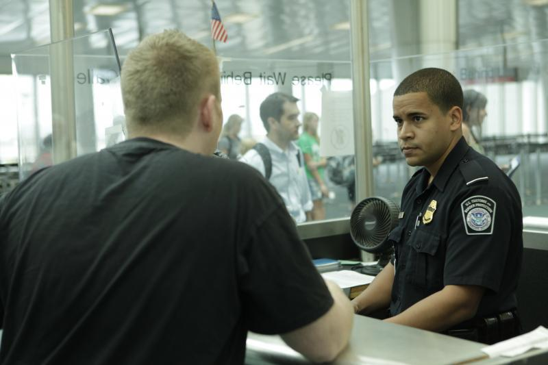 CBP Officers are authorized to inspect domestic flights from Puerto Rico and the US Virgin Islands towards the US mainland.