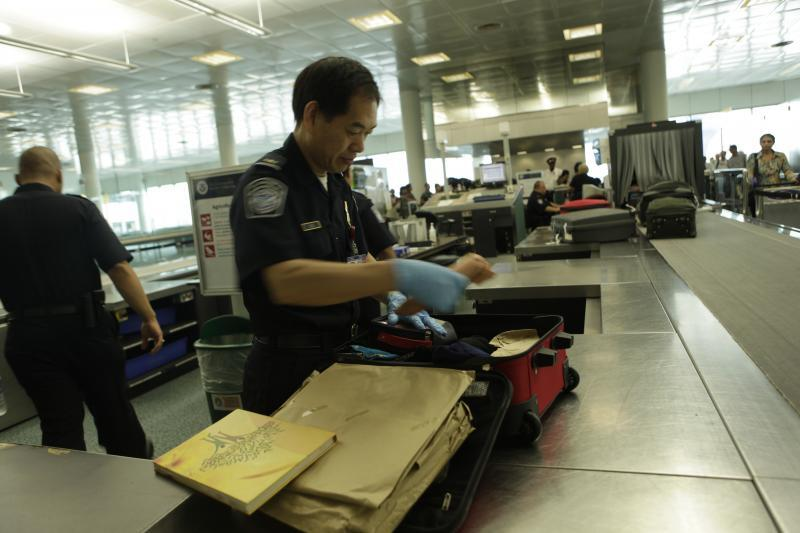 CBP Officers are authorized by law to inspect people and luggage without a warrant.