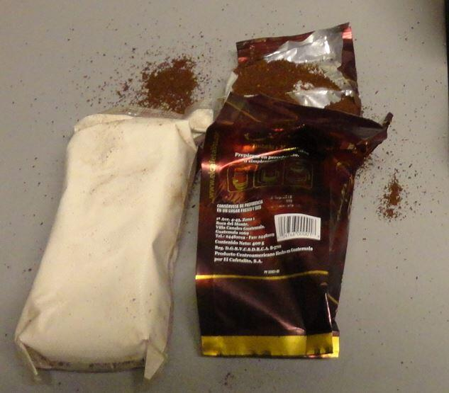 Heroin in Coffee from Guatemala Seized by CBP at Miami International Airport