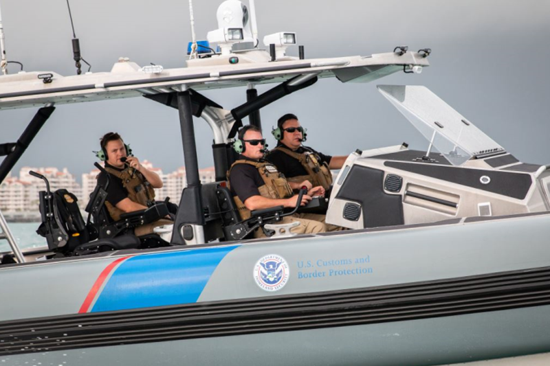 Marine Interdiction Agents conduct maritime law enforcement operations in south Florida.