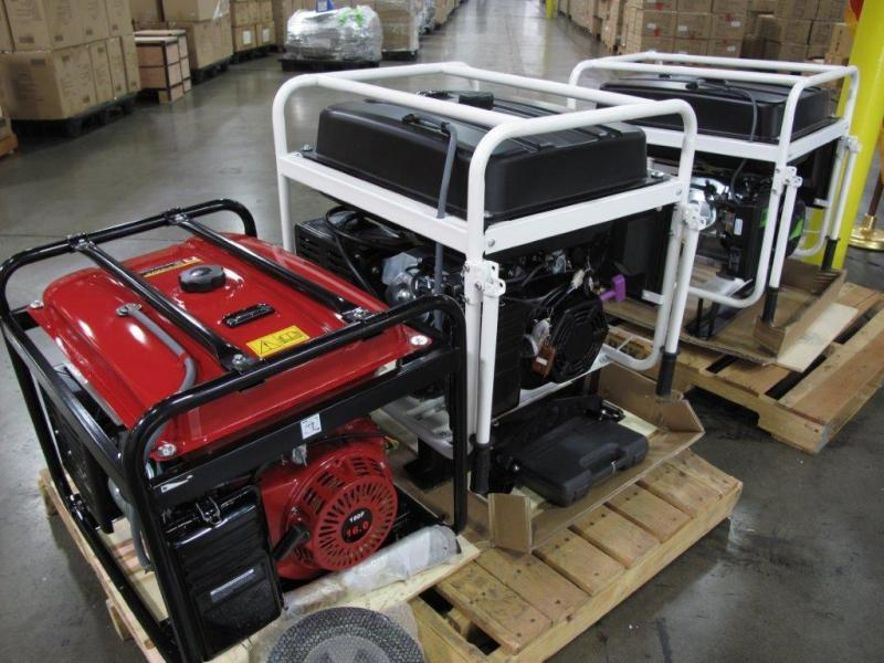 Seized Violative Generators