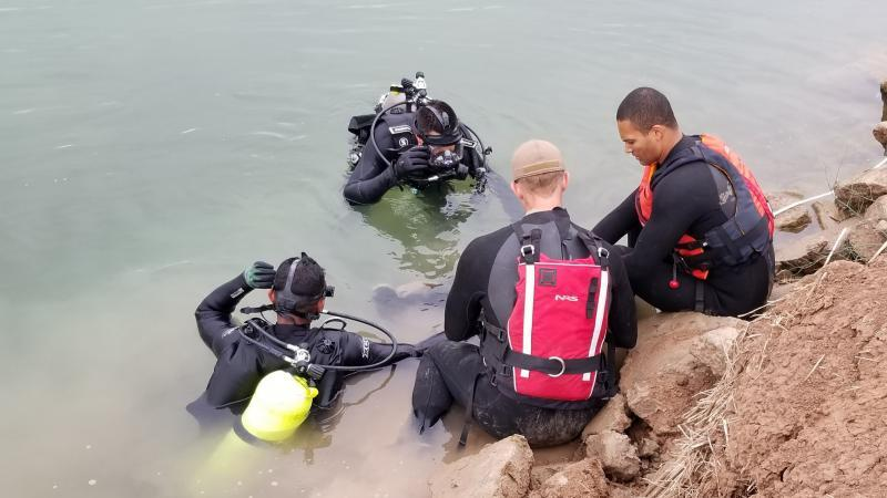 El Centro Sector Border Patrol BORSTAR team recovered the body of an undocumented immigrant drowned in a canal