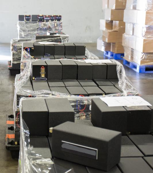 CBP officers found 3,810 pounds of meth hidden in fake loud speakers