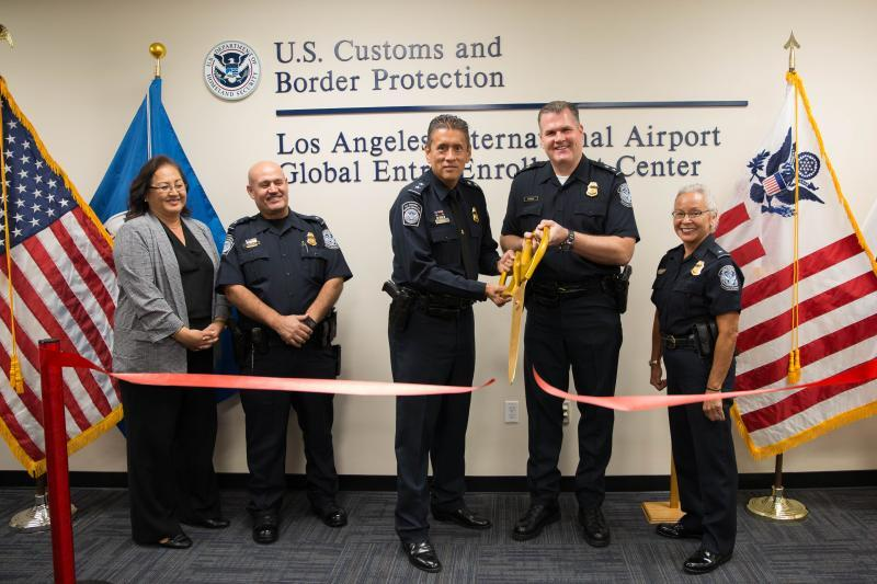 CBP Announced the Grand Opening and Expansion of Global Entry Enrollment Center at LAX