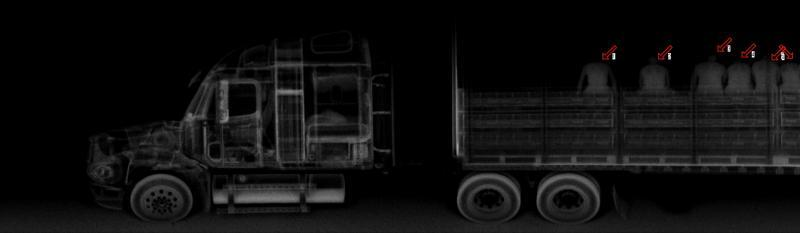 tractor trailer backscatter