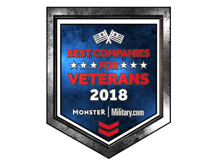 CBP was recognized as one of the Best Companies for Veterans in 2018 by Monster.
