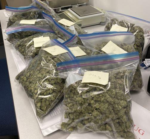 Marijuana seized at the Port of Massena, N.Y.