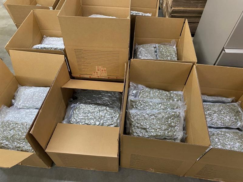 Marijuana seized at the Port of Buffalo, N.Y.