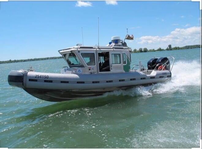 U.S. Border Patrol Marine Unit, Buffalo, N.Y.