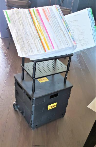 Image of Rolling Crate Set Up