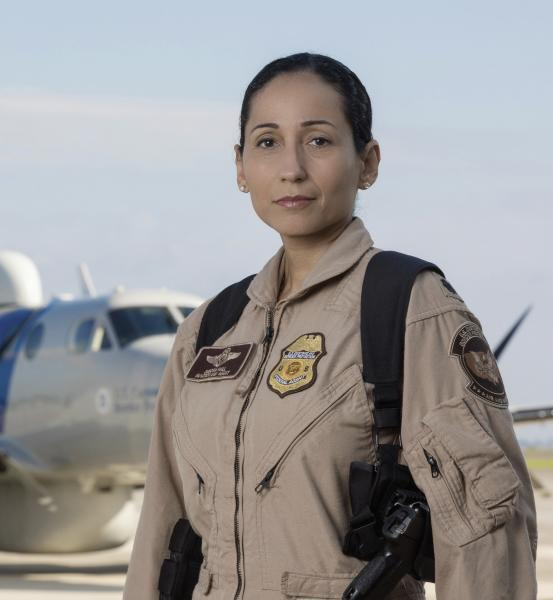 Debora Hall Aviation enforcement agent
