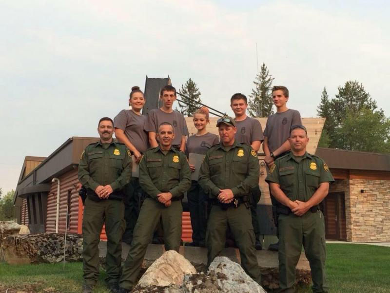 Bonners Ferry Border Patrol Explorers