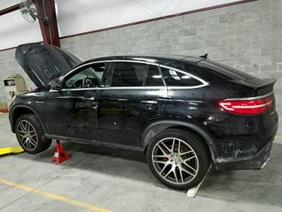 stolen 2016 Mercedes Benz Port of Entry Norfolk