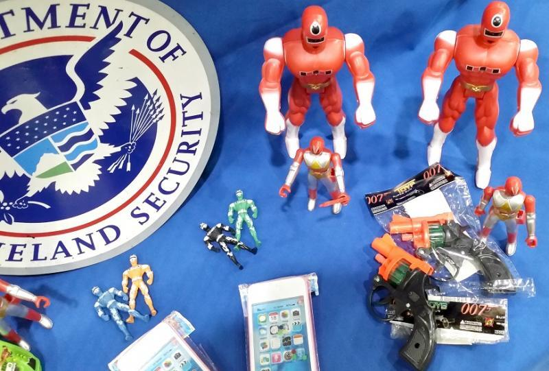 CBP Charleston seized counterfeit toys