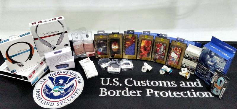 IPR items sized by CBP at Charleston Seaport